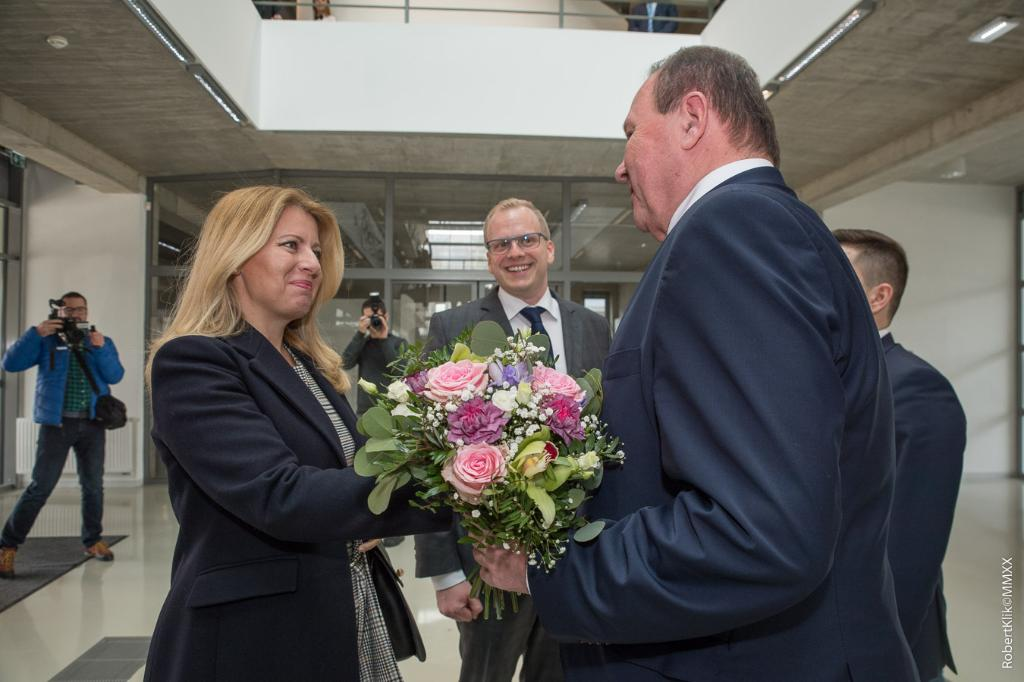 President of the Slovak Republic visited TUKE